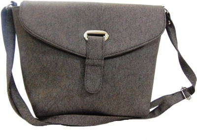 Estoss Women Casual Grey PU Sling Bag