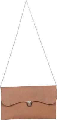 Kshipra Fashion Women, Girls Brown Genuine Leather Sling Bag