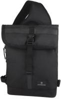 Victorinox Men & Women Black Nylon Sling Bag