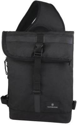 Victorinox Boys, Men, Girls, Women Black Nylon Sling Bag