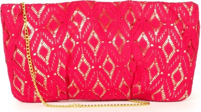 109F Women Pink PU Sling Bag