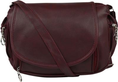 Coash Women Brown PU Sling Bag