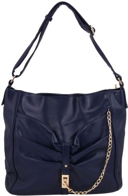 Gihaan Girls, Women Blue PU Shoulder Bag