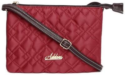 Addons Women Red PU Sling Bag