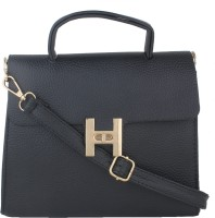 Alvaro Castagnino Women Black PU Sling Bag