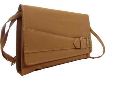 Estoss Women Casual Beige PU Sling Bag