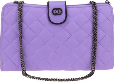 Kaos Girls, Women Purple PU Sling Bag