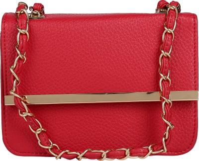 ToniQ Girls, Women Red PU Sling Bag