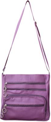 Bueva Girls, Women Purple PU Sling Bag