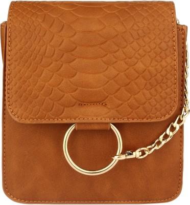 20Dresses Women Brown PU Sling Bag