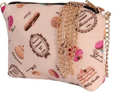 Fashnopolism Women Casual Brown Leatherette Sling Bag