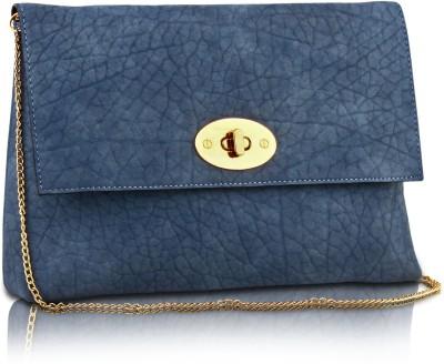 Ccha Girls Blue PU Sling Bag