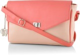 BUTTERFLIES Women Pink PU Sling Bag