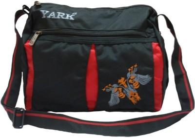 Yark Girls Casual Black Polyester Sling Bag
