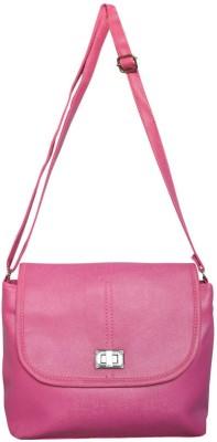 Bueva Women, Girls Pink PU Sling Bag