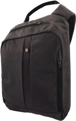 Victorinox Men, Boys, Girls, Women Black Nylon Sling Bag