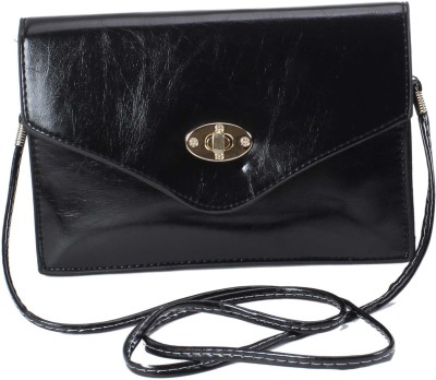 Classique Women Casual, Formal, Evening/Party Black PU Sling Bag