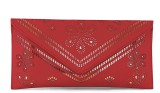 Histeria Women Red Leatherette Sling Bag