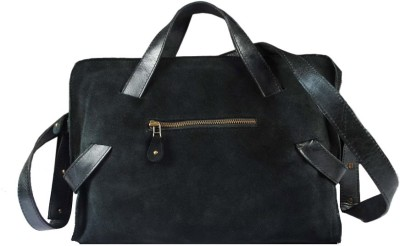 Delphi Boys Casual Black Genuine Leather Sling Bag