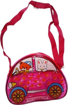 Klassik Boys, Girls Pink Acrylic Sling Bag