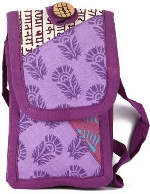Cute Things Girls, Women Purple Cotton Sling Bag