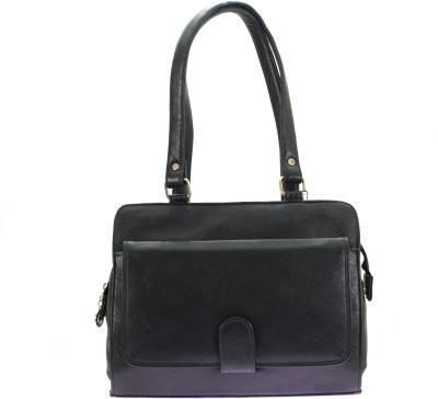 velina Women Black PU Shoulder Bag