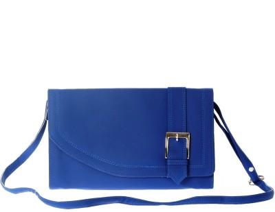 Estoss Women Blue PU Sling Bag