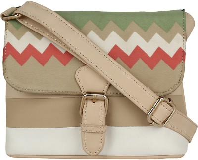 Berrypeckers Women Multicolor PU Sling Bag