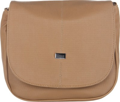 Dice Women Casual Beige PU Sling Bag