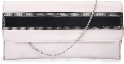 Contrast Girls White PU Sling Bag