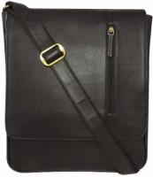 Chimera Leather Men & Women Casual, Formal Black Leatherette Sling Bag