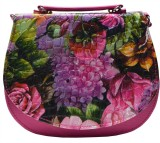 Utsukushii Women Pink PU Sling Bag