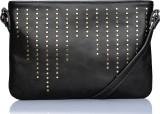 Caprese Women Grey Leatherette Sling Bag