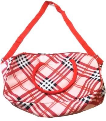 Navigator Women Red Polyester Sling Bag