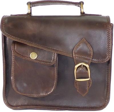 Adimani Women Black Genuine Leather Sling Bag