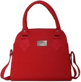 SV Creations Women Red PU Sling Bag