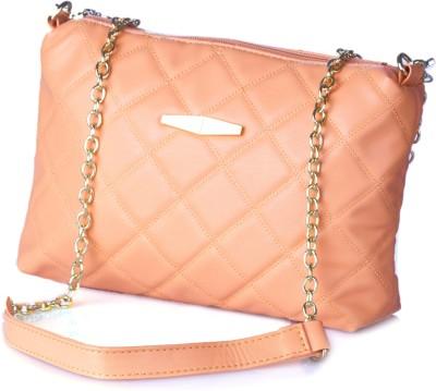 Stylehoops Women, Girls Orange PU Sling Bag