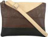 Toteteca Bag Works Women Brown, Black PU...