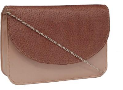 Borse Women Brown PU Sling Bag