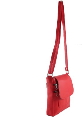 31st Street Girls, Women Red Leatherette Sling Bag