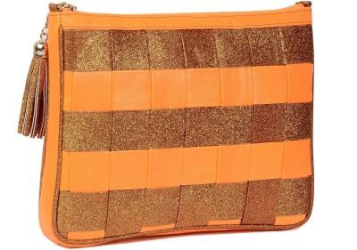 Vdesi Women, Girls Casual, Evening/Party, Formal, Festive Orange PU Sling Bag