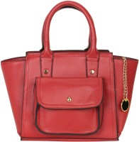 Smerize Girls Red Leatherette Satchel