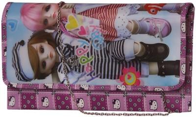 Notbad Girls Casual Purple PU Sling Bag