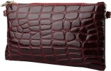 Stylehoops Women Red PU Sling Bag