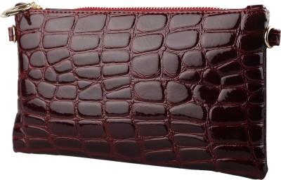 Stylehoops Women, Girls Red PU Sling Bag