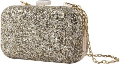 The Purple Sack Girls Gold Leatherette Sling Bag