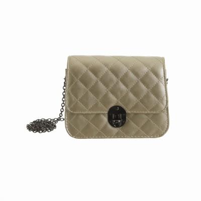 Peaubella Girls Casual Gold PU Sling Bag
