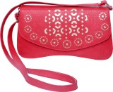 Admarich Women Red PU Sling Bag