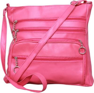 Notbad Girls Pink Leatherette Sling Bag