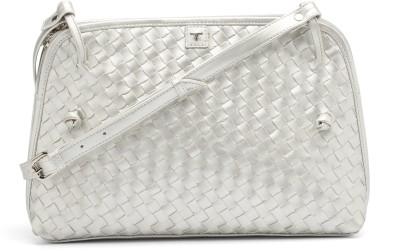 Bulchee Girls, Women Silver Leatherette Sling Bag